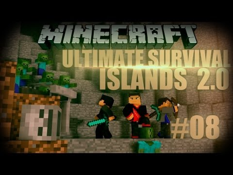 Minecraft: Ultimate Survival Islands 2.0 - Episode 8 - Porkchop Farm Fail!