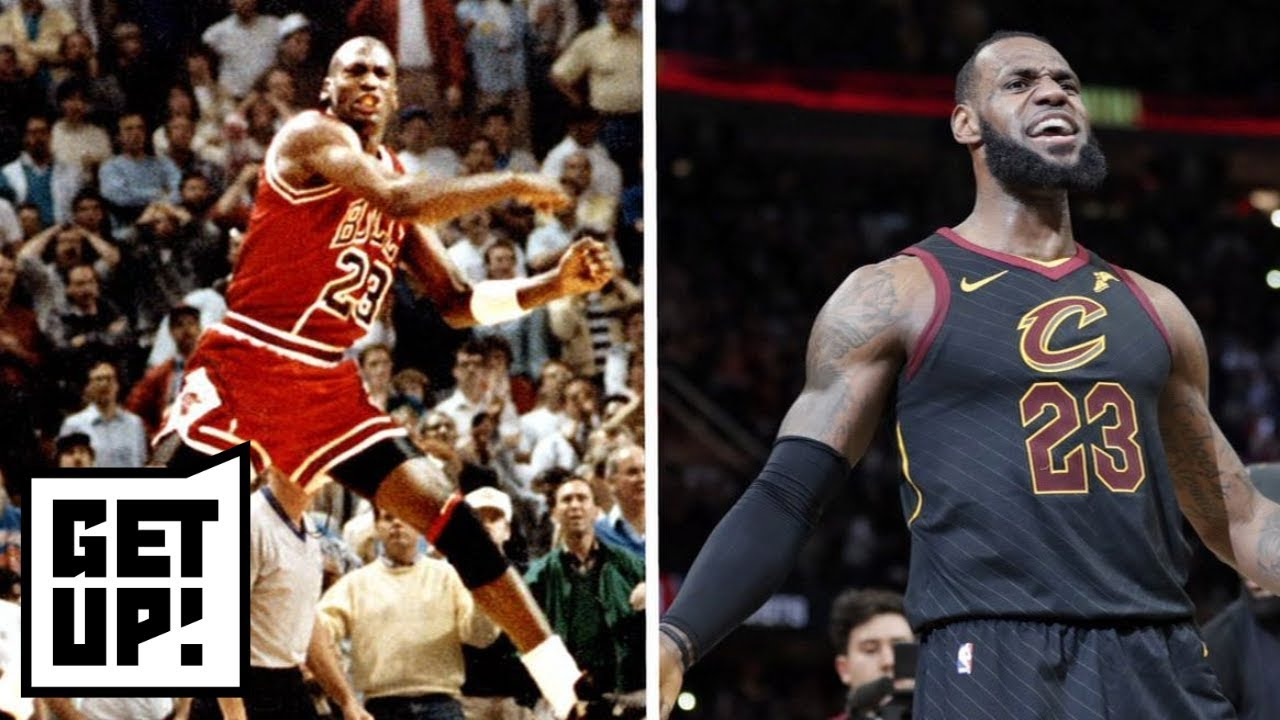 Is LeBron James' buzzer-beater better than Michael Jordan's over Craig Ehlo? | Get Up! | ESPN