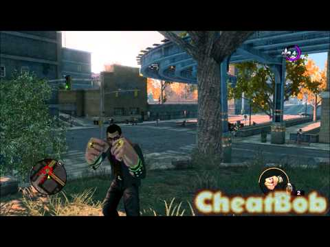 Saints Row the Third : let's have fun with cheats (hookers. iron fist. zombies. airstrike...)