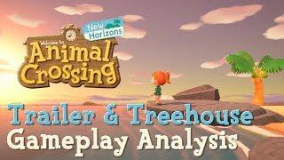 Animal Crossing : New Horizons ~~ Trailer & Treehouse Gameplay Analysis