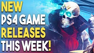 12 NEW PS4 Game Releases THIS WEEK! BIG JRPG In Development!