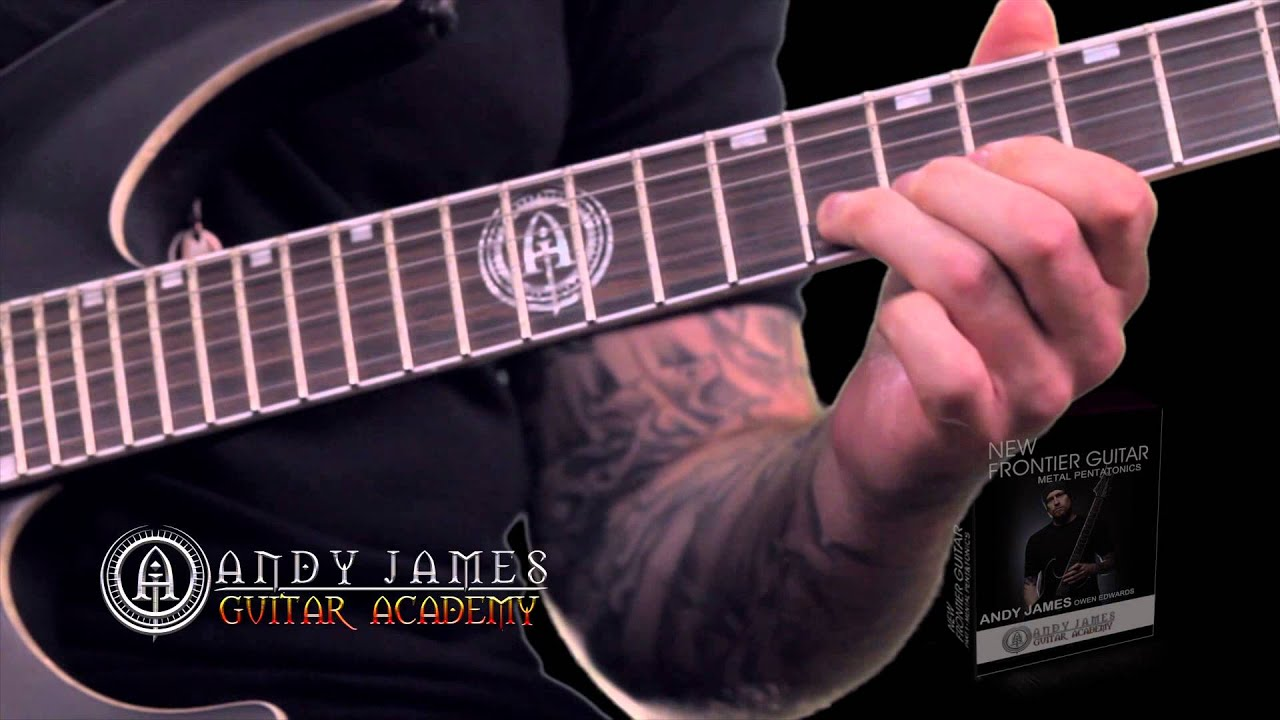 Andy James New Frontier Guitar - YouTube