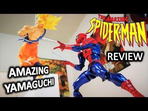 La figura mas sorprendente del HOMBRE ARAÑA. Unboxing & Review SPIDERMAN AMAZING YAMAGUCHI.
