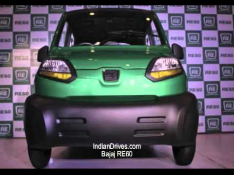 Bajaj RE60 Low Budget Car in India