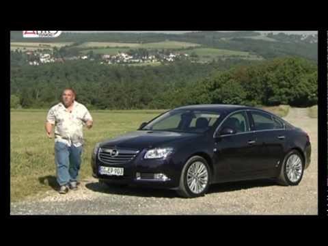 Opel Insignia 2012, тест-драйв