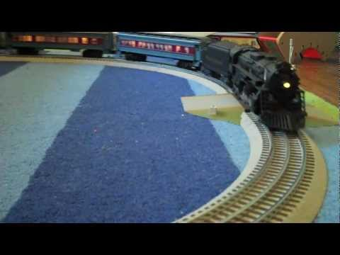 Polar Express - Lionel O Gauge train under the bed