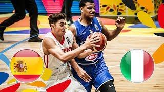 Spain v Italy - Full Game - Game 7-8 - FIBA U20 European Championship 2018