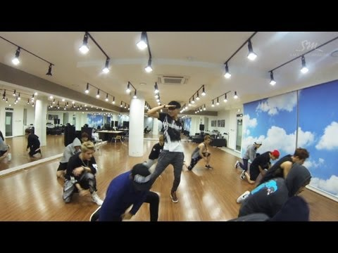 Exo 으르렁 (growl) dance Only (chinese Ver.) video