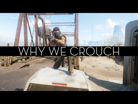 Why We Crouch In 3D Shooter Video Games