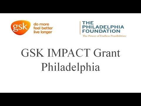 GSK IMPACT Grant for Philadelphia