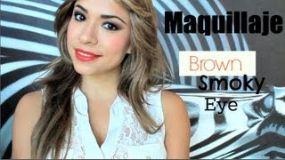 Brown Smoky Eye ♥  Colores Cálidos ♥ Shelby Ruiz M
