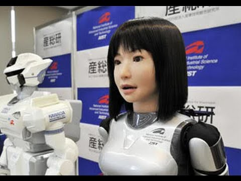 Robot Humanoid 2013 Robots Humanoides Japoneses