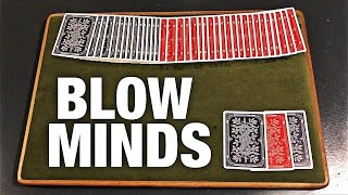 Impress EVERYONE With The EASIEST Card Trick!
