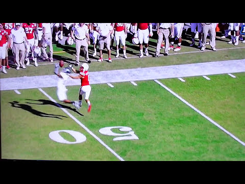 Jordan Westerkamp behind the back catch Nebraska