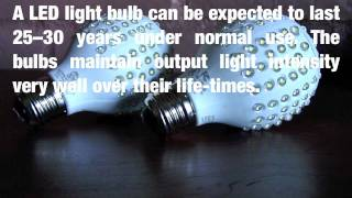 New Mexico LEDs Green 12-Watt LED Bulbs Could Replace 425 Million 60-Watt Energy Hogs