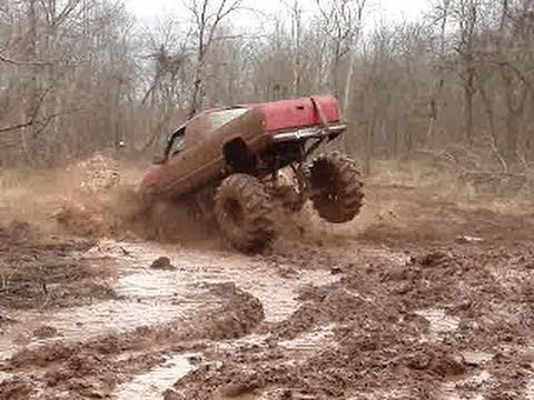 Big Mud Bogging Truck