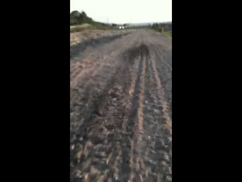 Small dirt road iPhone vid
