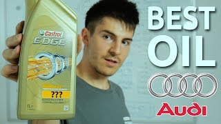 The Best Engine Oil For Audi & Volkswagen