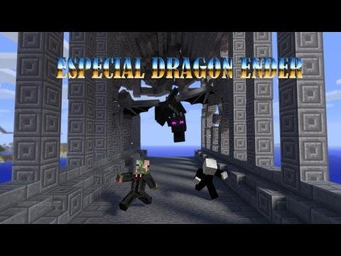 Minecraft   ESPECIAL   Matando al dragon ender 1.6.2