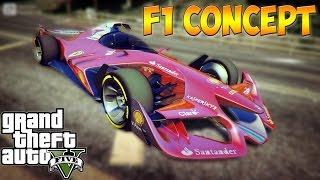 GTA 5 Моды: F1 Concept (Самая Быстрая и Резвая)