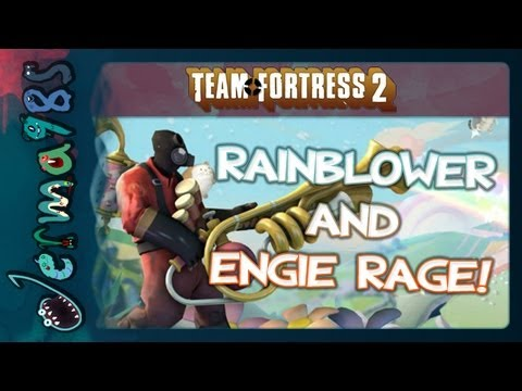 TF2: Rainblower Headache and Engie Rage! [Jerma and STAR_]