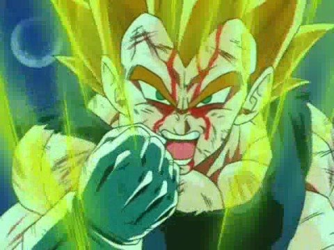 dragon ball z- Vegeta-Tierra Santa