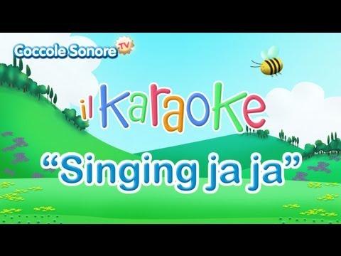 Siamo andati alla caccia del leon - Singing Ja Ja - karaoke per bambini di Coccole Sonore