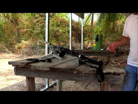 Silenced VS Unsilenced AR-15 and 300 Whisper