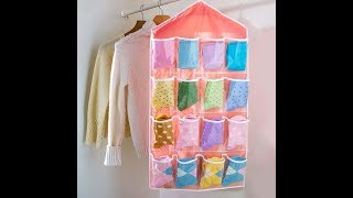 Pocket Door Hanging Organizer (DIY)