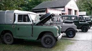 Amberley Museum Classic Land Rover Day 2016