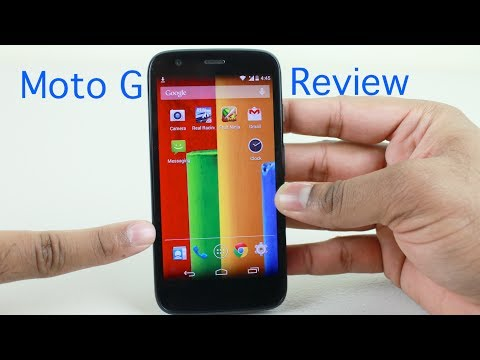 Moto G Review | With Android Kitkat Update video