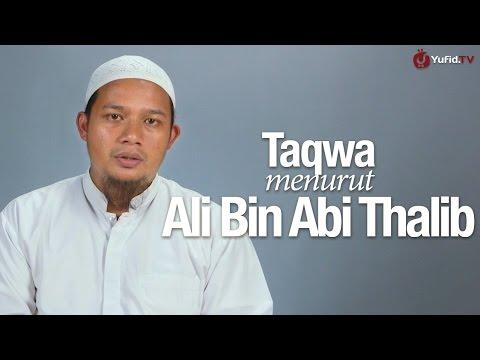 Ceramah Singkat: Taqwa Menurut Ali Bin Abi Thalib - Ustadz Abdullah Husni, Lc.