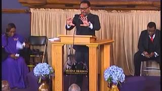 Mt Hermon M.B. Church, Chicago, ILL, Dr. Oscar T. Moses, 5 24 15 Sunday Service