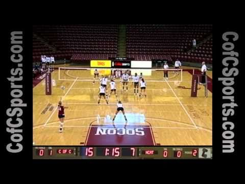 9.26.10 Volleyball vs. North Carolina A&T Highlights