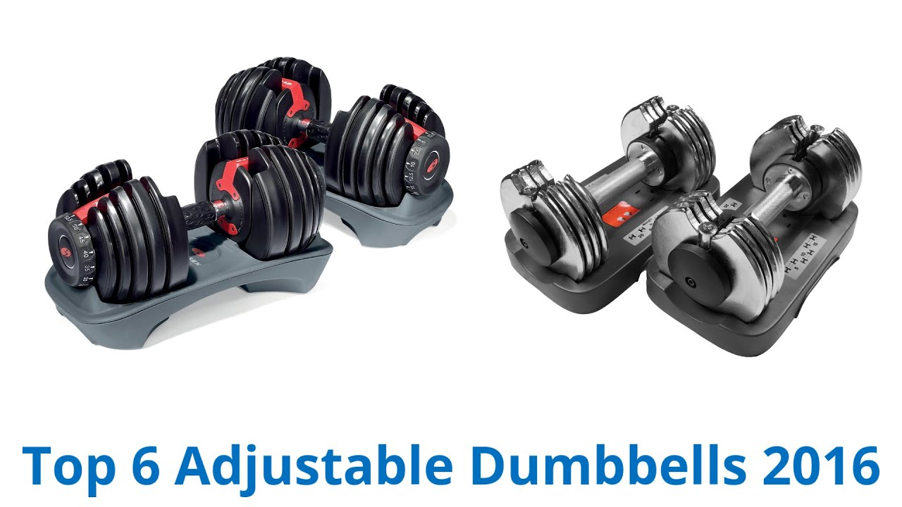 6 Best Adjustable Dumbbells 2016