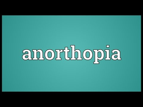 Header of anorthopia