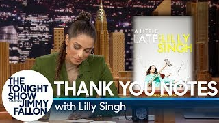 Thank You Notes with Lilly Singh