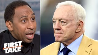 Stephen A. thinks Jerry Jones was convinced to keep Jason Garrett through this season | First Take