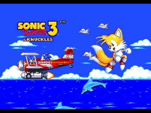 Sonic and Knuckles & Sonic 3 - Sonic 3 and Knuckles-Tails[first half] - User video