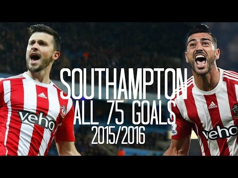 Southampton - All 75 Goals - 2015/2016 - English Commentary (Just Goals)