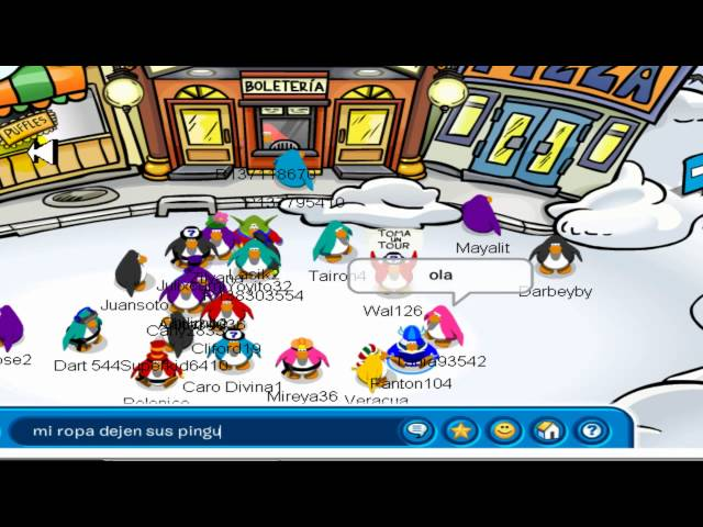 Como desbloquear ropa de club penguin.mp4