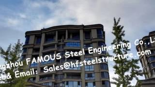 Multiple Storey Commercial Hotel Office High Rise Steel Buildings Contractor China Supplier