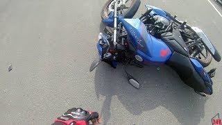 Apache 160 Street Race - Crash - Kolkata