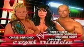 WWF Royal Rumble 2000 Matchcard
