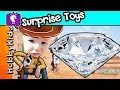 DIAMOND Dig It Surprise Toys! Gold Hunt by Toy Story Woody + ...