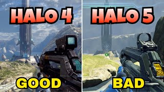 Halo 4 Looks Better Than Halo 5: Guardians