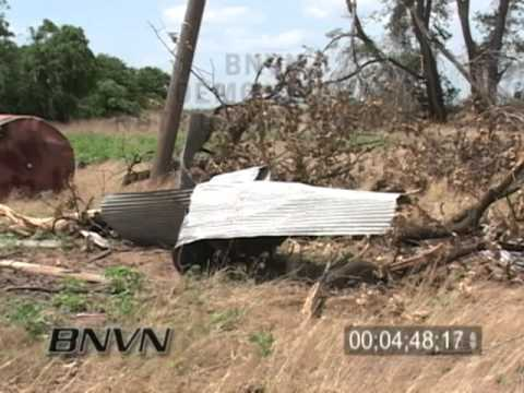 5/24/2008 Hennessey OK, Tornado Aftermath Video