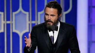 Casey Affleck Wins Best Actor in a Drama For