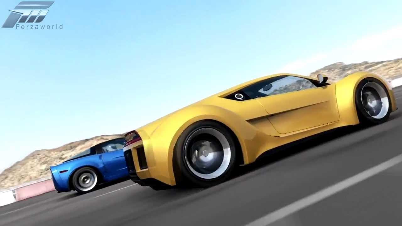 Forza 4 Saleen S5s Raptor Vs Chevrolet Corvette Zr1