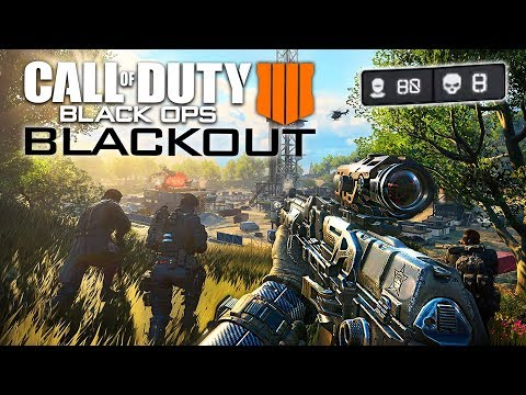 "Call of Duty: Black Ops 4 ""BLACKOUT"" Battle Royale Multiplayer Gameplay!! (COD BO4 Blackout BETA)"